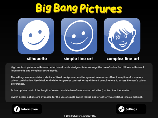 Big Bang Pictures iPad