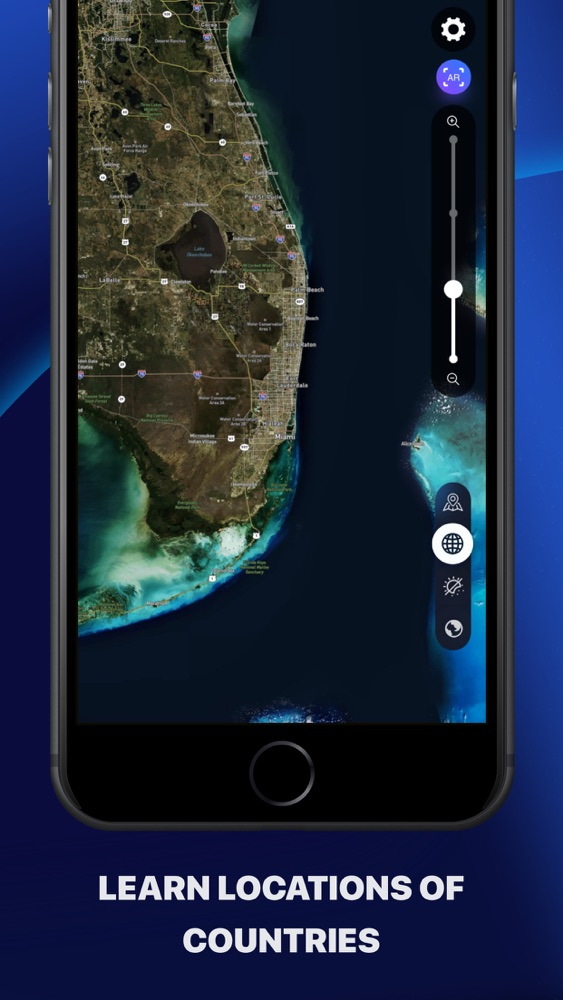Globe 3D - Planet Earth App for iPhone - Free Download Globe