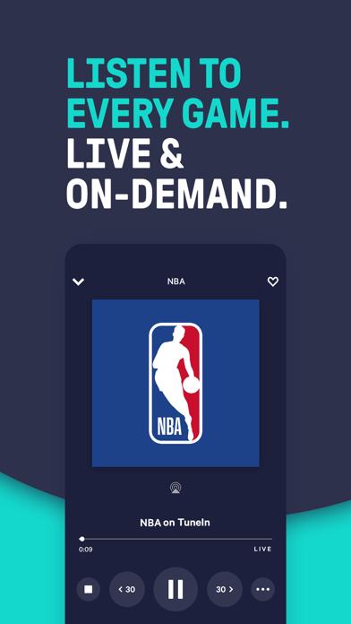 TuneIn Pro - Radio & Sports Screenshot