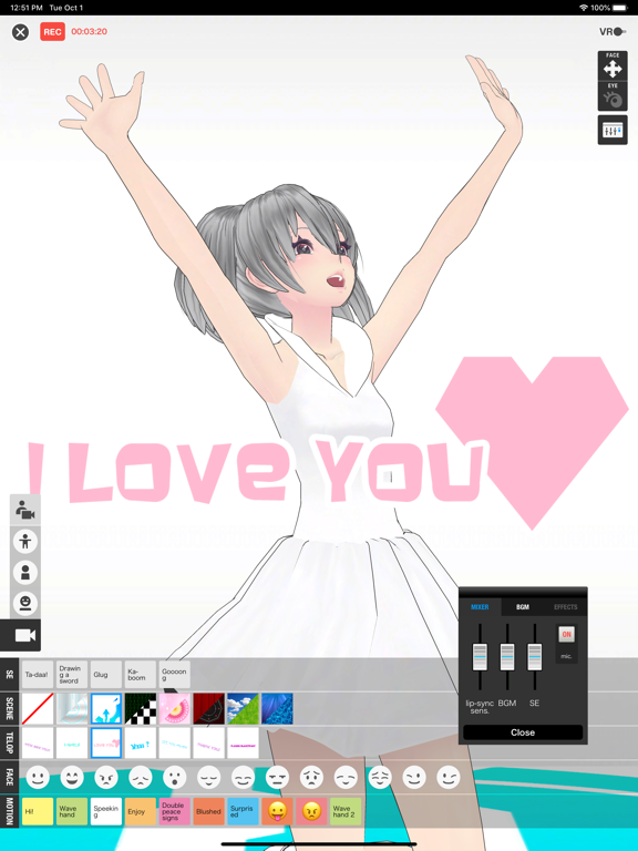 Bot3D Editor - 3D Anime Editor screenshot