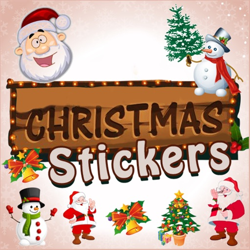 Merry Christmas Stickers 2020
