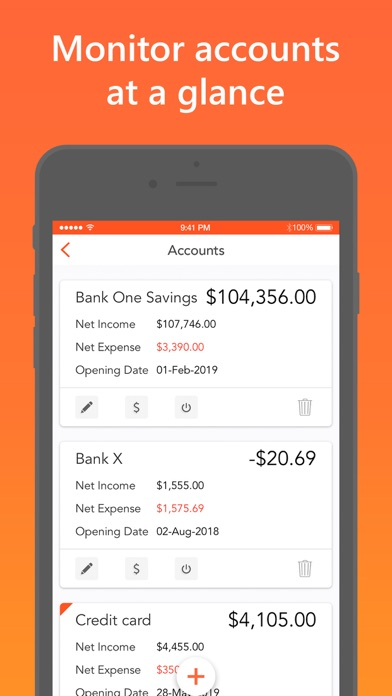 Screenshot #3 pour Easy Spending Expense Tracker