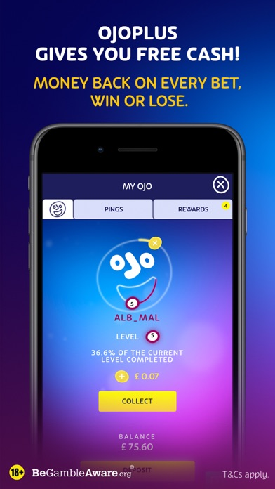 Play Casino Games at PlayOJO screenshot three