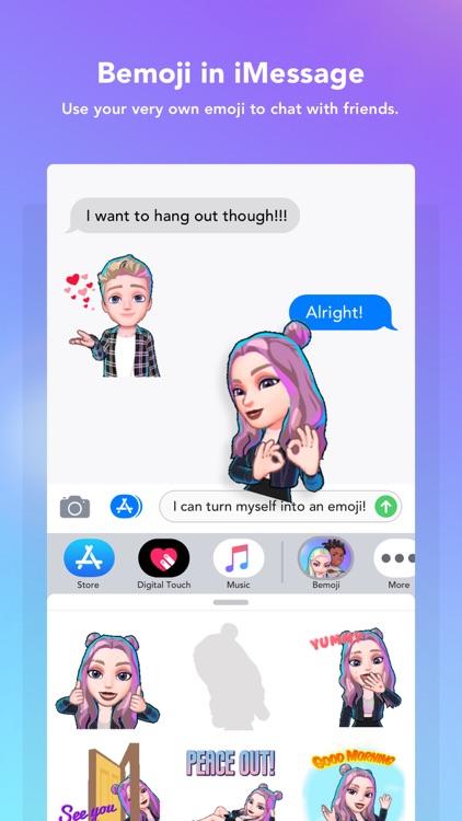 Bemoji | Your 3D Avatar Emoji screenshot-5