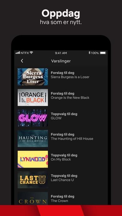Screenshot for Netflix in Norway App Store