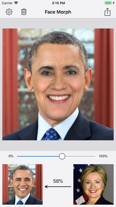 Face Morph - Morph 2 Faces screenshot 1