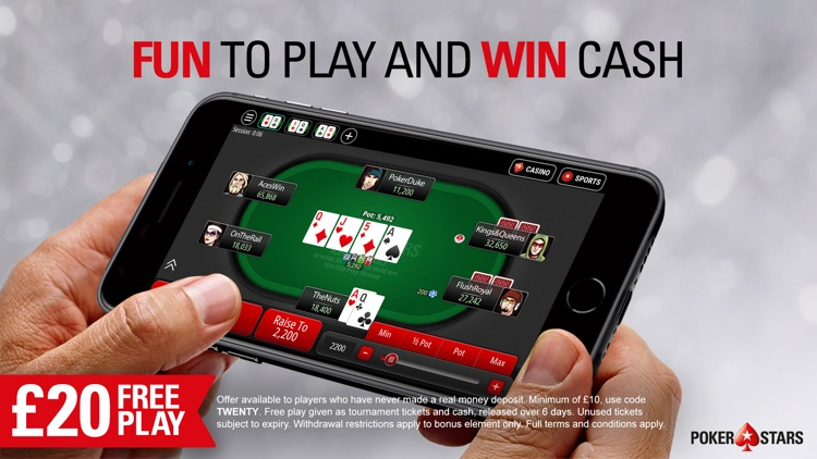 PokerStars Online Poker Games screenshot-5