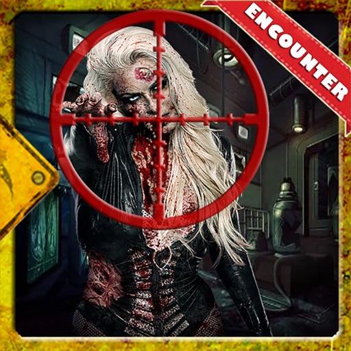 Dead Zombie Killer Sniper 3D icon