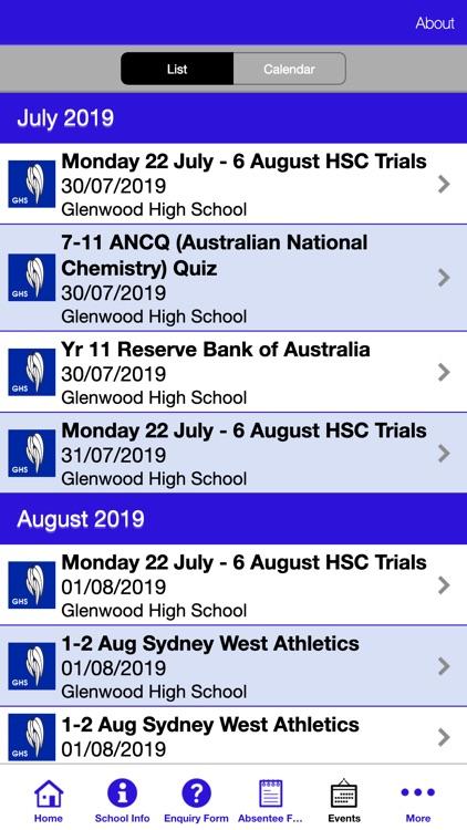 Glenwood High School screenshot-4