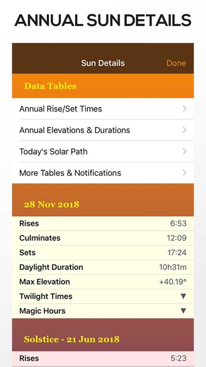 Sun Seeker Sun Tracker Compass screenshot-6