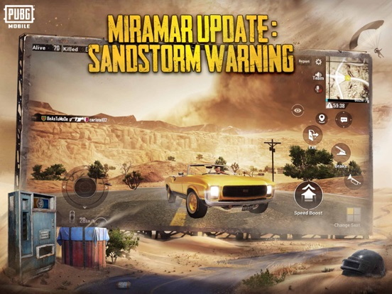 iPad Image of PUBG MOBILE - Mad Miramar
