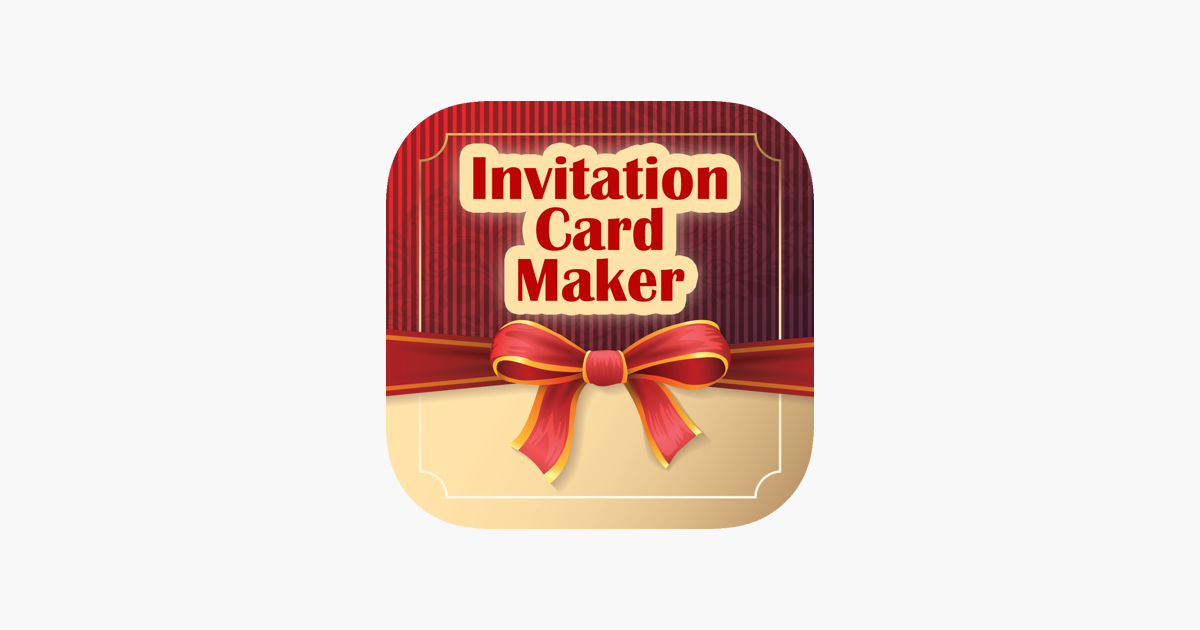 Invitation Maker, Card Creator on the App Store