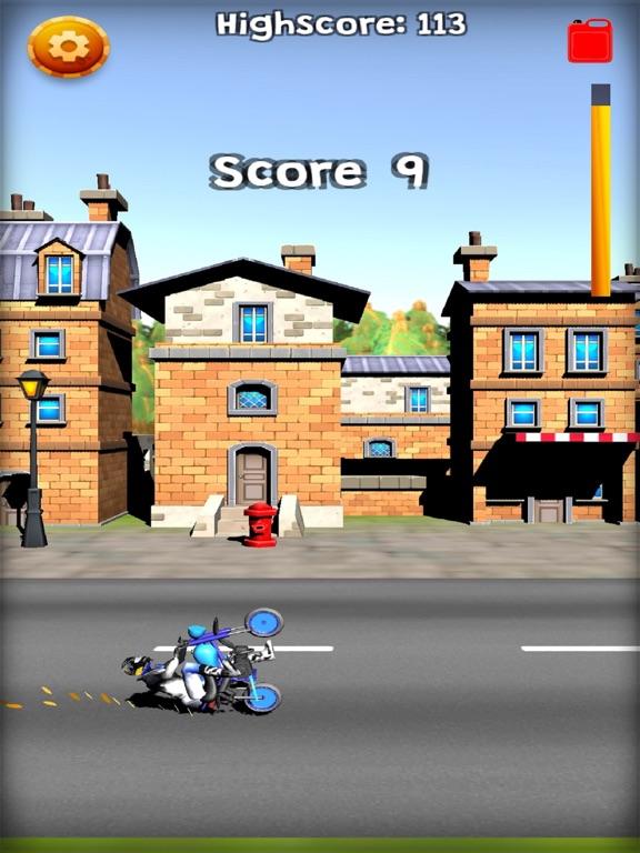 Screenshot #4 pour Wheelie Or Die - Wheelie game