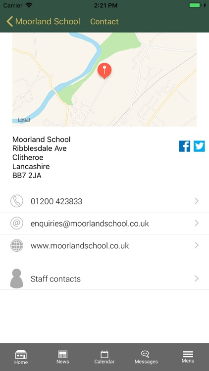 Moorland School screenshot-3