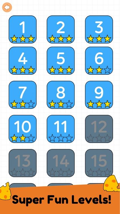 Mouse Maze: Brain Puzzle Games screenshot-3