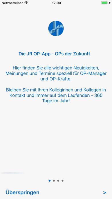 OP-Management App screenshot one
