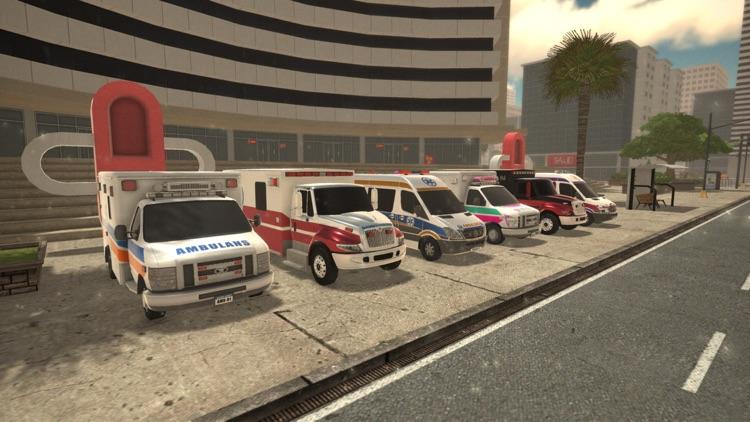 救护车紧急救护模拟:真实救援 screenshot-4