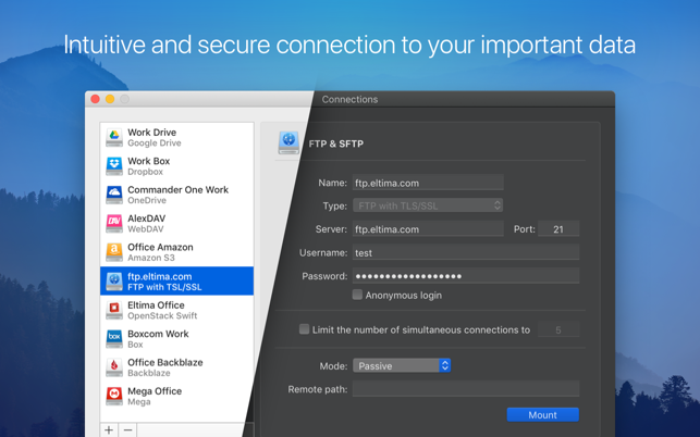 ‎CloudMounter: cloud encryption Screenshot