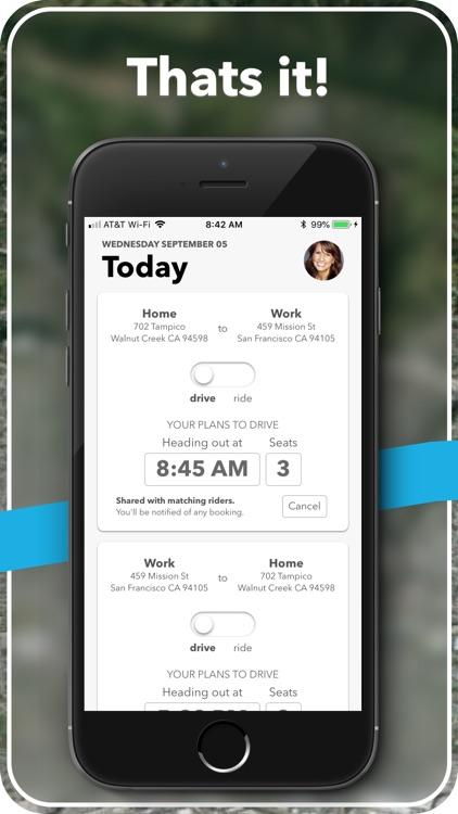 carzac - carpool made easy. screenshot-3