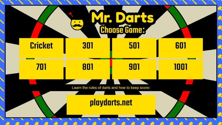 Mr. Darts - Cricket/01 Scorer