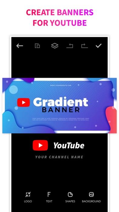Logo Maker + Logo Creator Screenshot