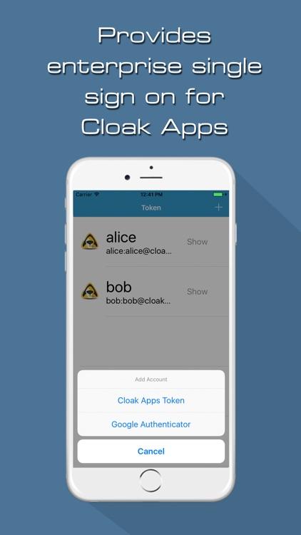 Cloak Mobile Token
