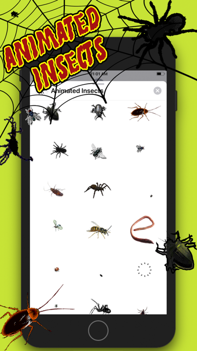 Animated Insects Sticker AppScreenshot of 1