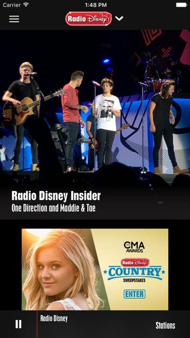 Radio Disney: Watch & Listen Screenshot