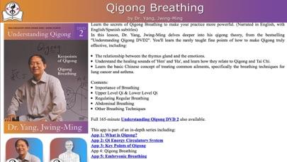 Qigong Breathing Video Lesson screenshot four