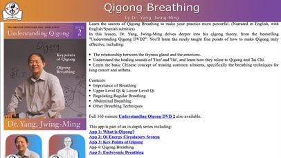 Qigong Breathing Video Lesson screenshot four
