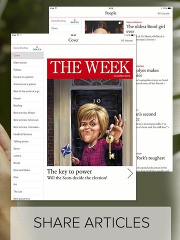 The Week magazine UK edition - náhled