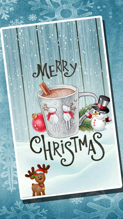 Christmas Wishes & Wallpaper screenshot-3