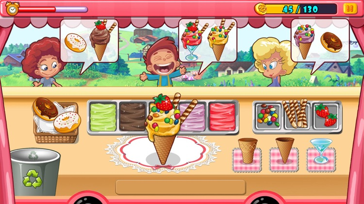 Crazy Chef - Ice Cream Truck
