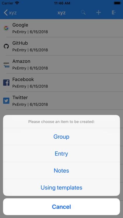 PassXYZ screenshot-3