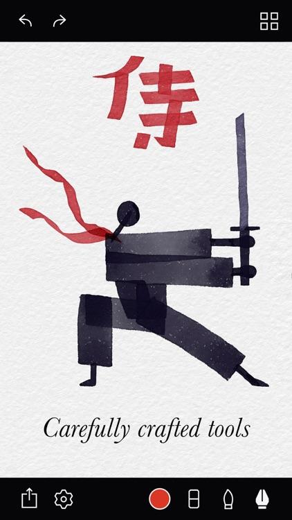 Tayasui Calligraphy screenshot-3