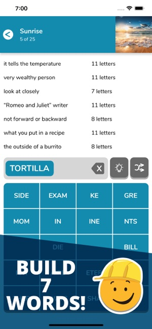 7 Little Words: Word Puzzles on the App Store