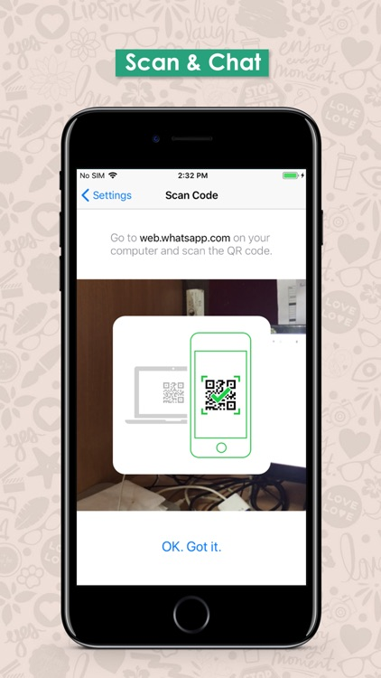 WhatScan: QR Scan DirectChat