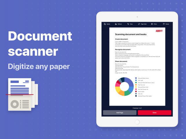 FineScanner: Scan to PDF Turbo Screenshot