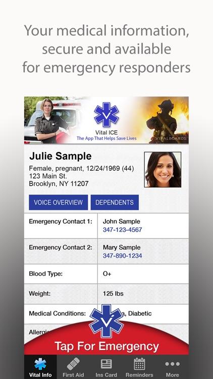 Vital ICE In Case of Emergency screenshot-0