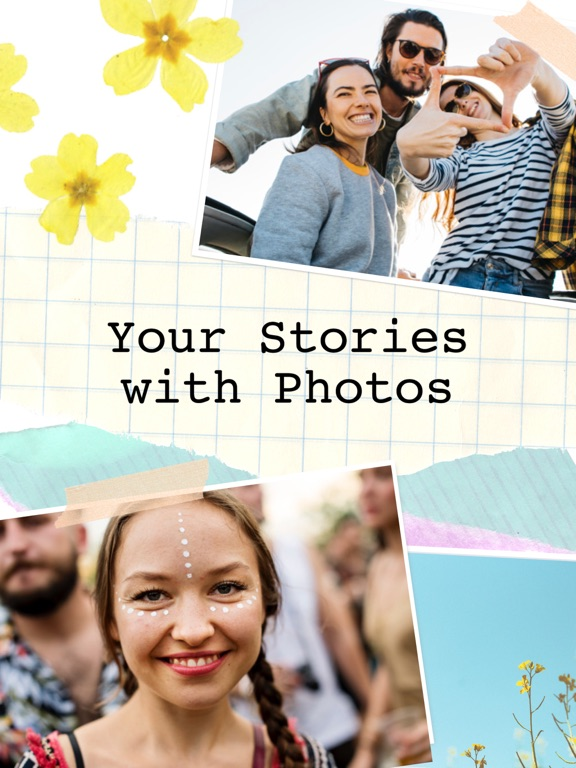 Screenshots for Pic Collage - Your Story Maker