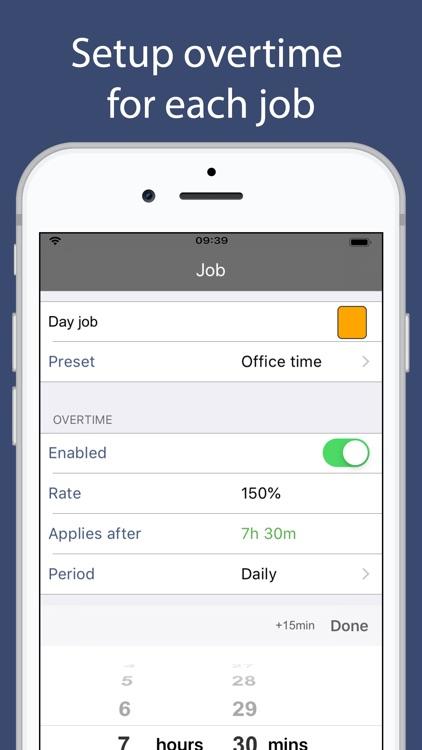 Salarybook Time Tracking screenshot-4