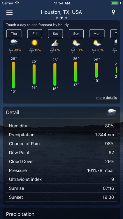 Weather : Weather forecast screenshot-3