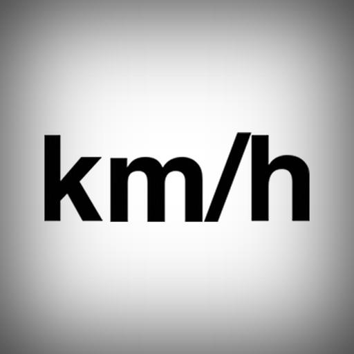 Speedometer km/h GPS train