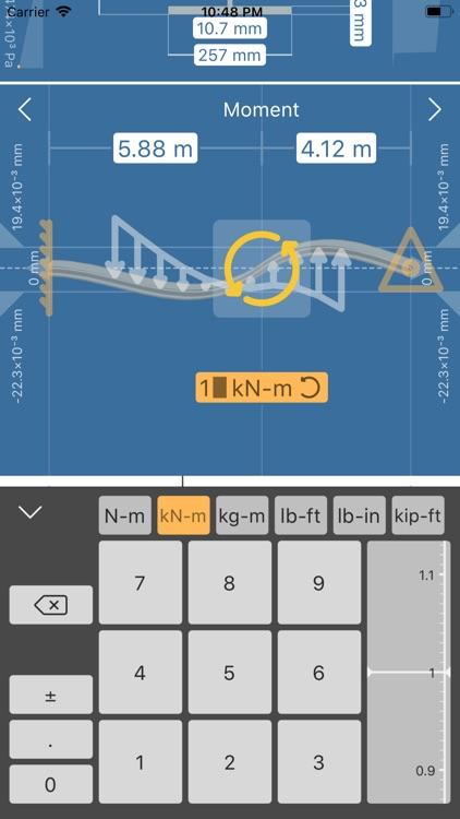 Deflection Beam Calculator screenshot-3