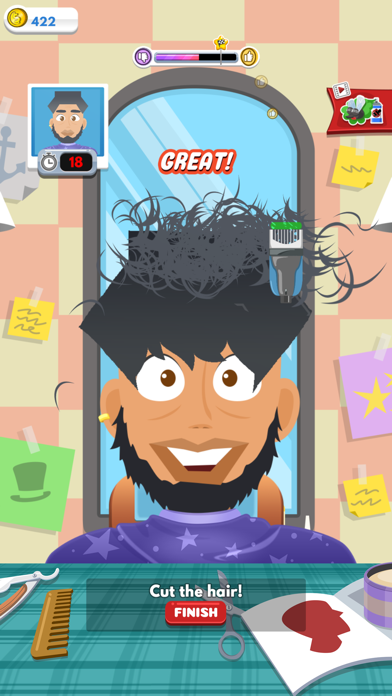Crazy Haircut screenshot 7