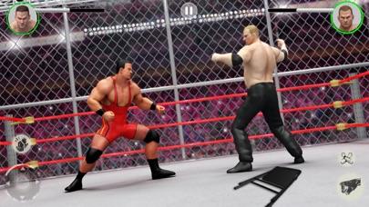 PRO Wrestling : Super Fight 3D Screenshot on iOS