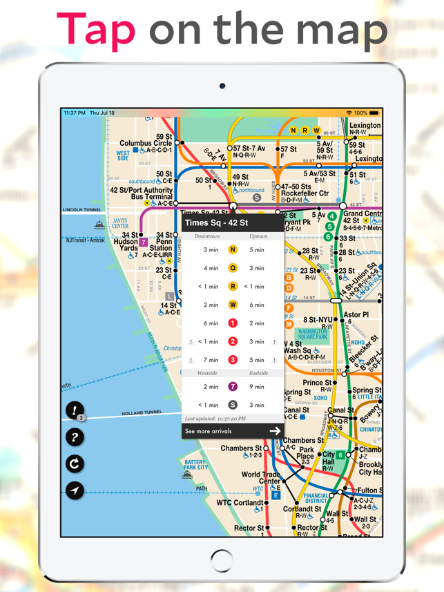 Mta Subway Map Permission Of Usage.Underway Nyc Subway Transit On The App Store