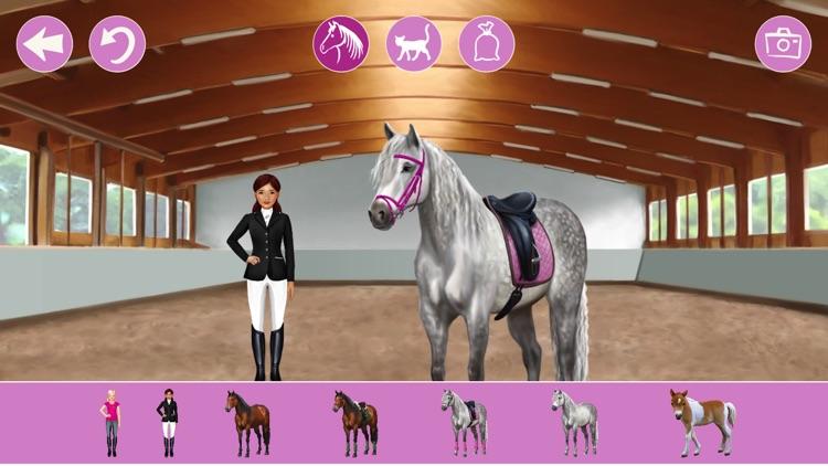 Pferde und Reiter Anziehspass screenshot-4