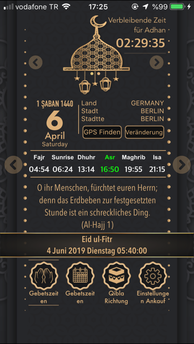 messages.download Gebetszeiten 2021 - Azan Times software