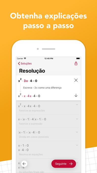 Screenshot for Photomath in Brazil App Store